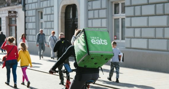 Eating in: delivery food could become major part of restaurant revenue