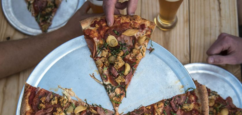 Pizza shop bakes local ingredients into every slice