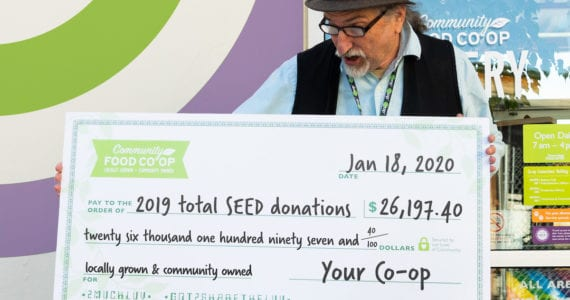 Community Food Co-op SEED program donates over $26,000